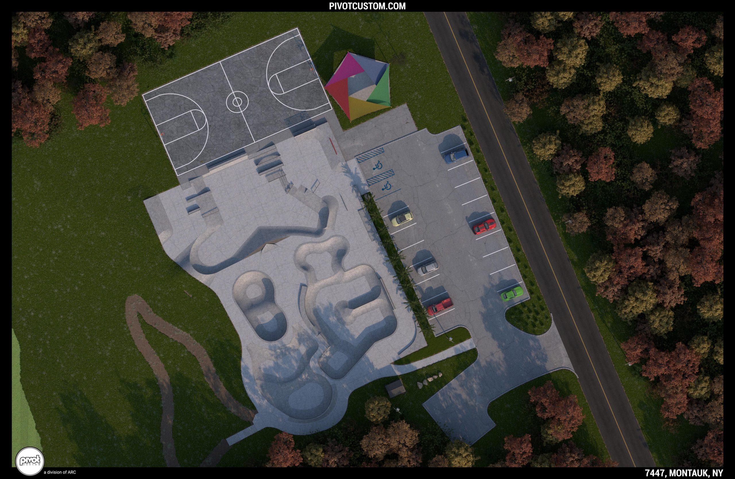 2021 Montauk Skatepark Renovation